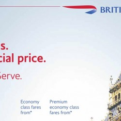 British Airways: Fly to Two Cities in Europe at One Special Price