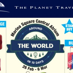 Marina Square: The Planet Traveller Travel Goods Carnival