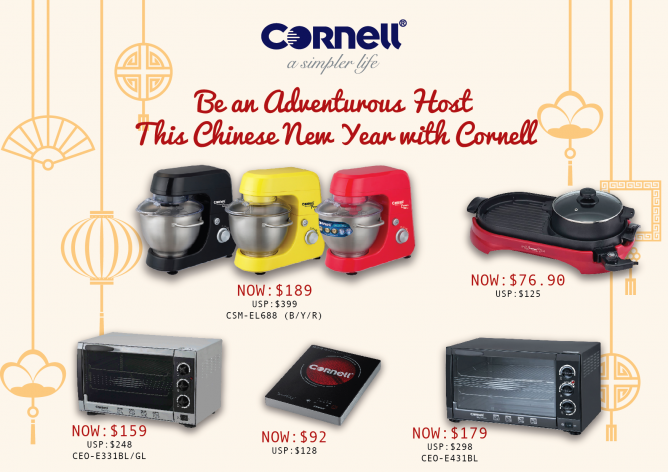 Cornell: CNY Promotions up to $210 OFF