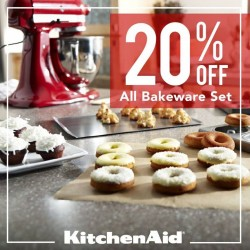 KitchenAid: bakeware set promotion --- 20% OFF Storewide