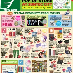 TOKYU HANDS: Pop-Up Store at Suntec City --- Special Gifts and More!