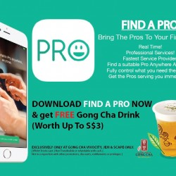 Gong Cha: Download Find A Pro App & Get Free Gong Cha Drink