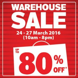 Home-Fix Singapore: Warehouse Sale 2016 --- Save up to 80%