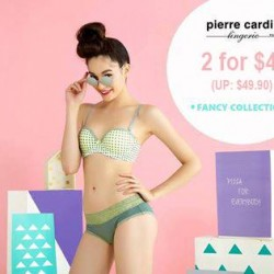 Pierre Cardin: Fancy Collection Promotion --- Get 2 for S$45