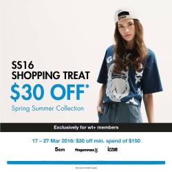 Chocoolate --- i.t Labels Singapore: latest Spring/Summer collection promotion --- S$30 off S$150