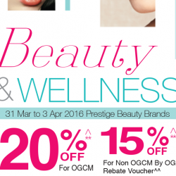 OG: Beauty & Wellness Fair - 20% OFF Cosmetics, Toiletries and Health supplements