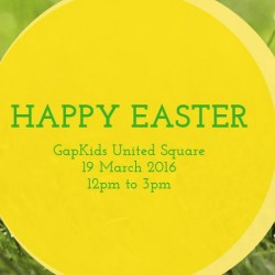 Gap Kids: Easter Event at United Square with Discounts Up to 25%