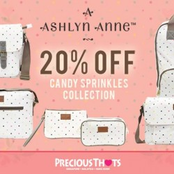 Precious Thots: 20% OFF on Latest Ashlyn Anne Candy Sprinkles Bag Collection