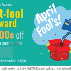 ComfortDelGro: JUST IN - Promo Code for $8 OFF Your Cab Fare on 01 April