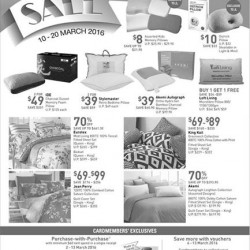 John Little: Storewide Promotion --- 20% OFF + S$5 OFF at Home Linen Department