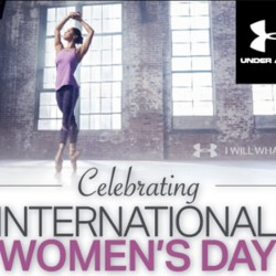 Biotherm celebrates International WOMEN'S DAY with UNDER ARMOUR! BUY 2 LESS 20% on UA Women's merchandise!