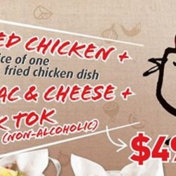 Chir Chir Singapore: $49.90++ Combo promotion!