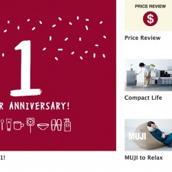 [MUJI Singapore: household category special promotion --- better value with reduced prices on 321 products