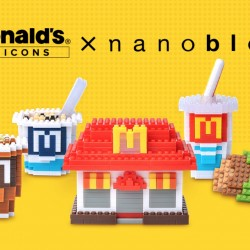 McDonald's Singapore: French Fries, Cold Cup, or Apple Pie nanoblock® collectible at just $4 each