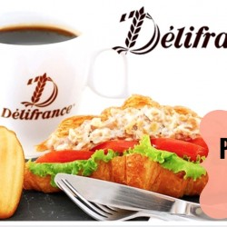 Delifrance: Pay only $7.90 for a Classic Sandwich, Madeleines, and Drink Set (worth $14.80) at 24 Outlets