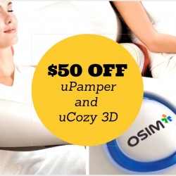 OSIM: $50 OFF uPamper and uCozy 3D
