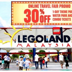 Legoland: 30% OFF 1-Day Theme Park, Water Park & Combo Tickets