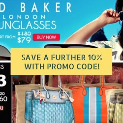 Deal.com.sg: 10% OFF with min. $100 Spend on Ted Baker Sunglasses & V°73 Bags