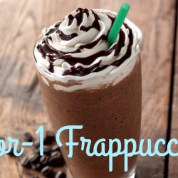 Starbucks: 1-for-1 Venti Frappuccino
