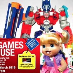Hasbro: Toys & Games Warehouse Sale on Transformers, Nerf, Monopoly, Little Pony and more!