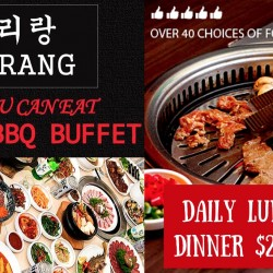 Arirang: All-YOU-CAN-EAT Korean BBQ Buffet from $17.90 onwards!