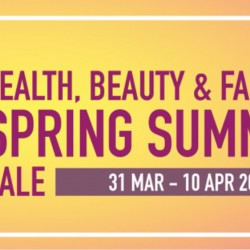 John Little: Health, Beauty & Fashion Spring Summer Sales with 50% OFF Selected Health & Beauty Products!