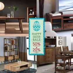 Picket & Rail: EASTER WEEK Promotion --- EASTER WEEK - 50% OFF LIVING ROOM SET PURCHASES + 20% OFF ADDITIONAL ITEMS