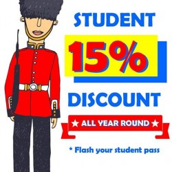 CHIPPY - British Take Away: Student Promotion All Year Round --- 15% OFF