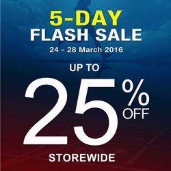 Royal Sporting House Singapore: 5 Day Flash Sale --- 25% OFF Storewide