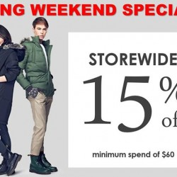 ColdWear: Good Friday Long Weekend Special Promotion --- 15% OFF