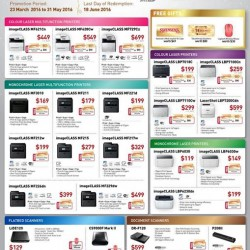 Challenger Singapore: With savings of up to $200 (selected models) and free gifts such as Swensons and Takashimaya vouchers