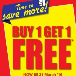 GIORDANO Singapore: End of March Promotion --- Buy One Get One Free Storewide