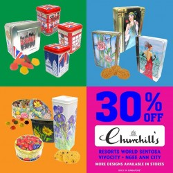 Candylicious: Churchill's confectionery Promotion --- 30% OFF