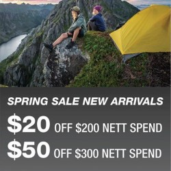 The North Face: latest Spring / Summer 2016 collection with New Arrivals promotion