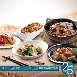 Crystal Jade Steamboat Kitchen: house specialities promotion --- S$9.8 with a min. order of S$25