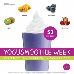 Yoguru: Yogusmoothie week Promotion