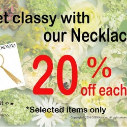 Osewaya: Long Necklaces Promotion --- 20% OFF