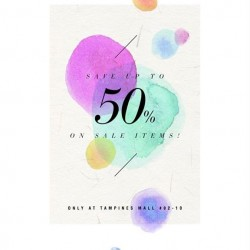 Ninth Collective at Tampines Mall: Outlet Sale up to 50% off!