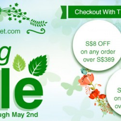 Value Basket: Coupon Code to get $8 OFF Purchase above $389