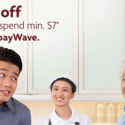 Toast Box: Visa payWave Promotion - $1 OFF with min. $7 spend