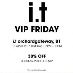 i.t. Labels: Exclusive Sale - 30% OFF on 5cm, izzue & fingercroxx