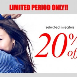 ColdWear: Cotton Collection Promotion --- 20% off