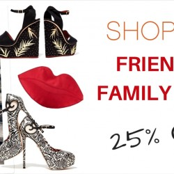 Shopbop: Friends and Family Event Coupon Code for 25% OFF