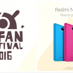 Mi: Fan Festival 2016 on 6 April with Fantastic Deals!
