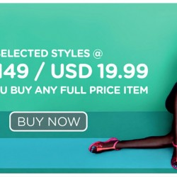 Mdreams: Melissa Shoes Coupon Code to Redeem any Selected Style at HKD149/USD19.99 with Full Price Item Purchase
