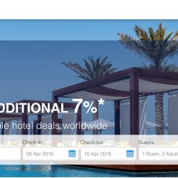 Agoda: UOB Card Coupon Code for additional 7% OFF on hotels worldwide