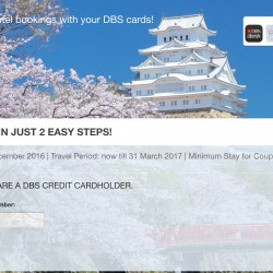 Expedia: DBS Card Coupon for Additional 10% OFF on Hotel bookings
