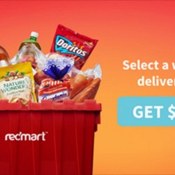 Redmart: Coupon Code for $5 OFF Orders Delivered this Weekend
