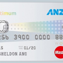 ANZ: Earn 5% cash rebate with ANZ Optimum World MasterCard Credit Card