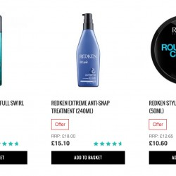 LookFantastic: 15% OFF Redken Products + FREE L'Oreal Mascara